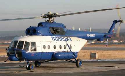 The Mi-8AMT multi-role helicopter is built by Ulan-Ude Aviation Plant.