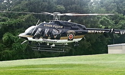 The Pennsylvania State Police received two Bell 407GX law enforcement and patrol helicopters in October 2014.
